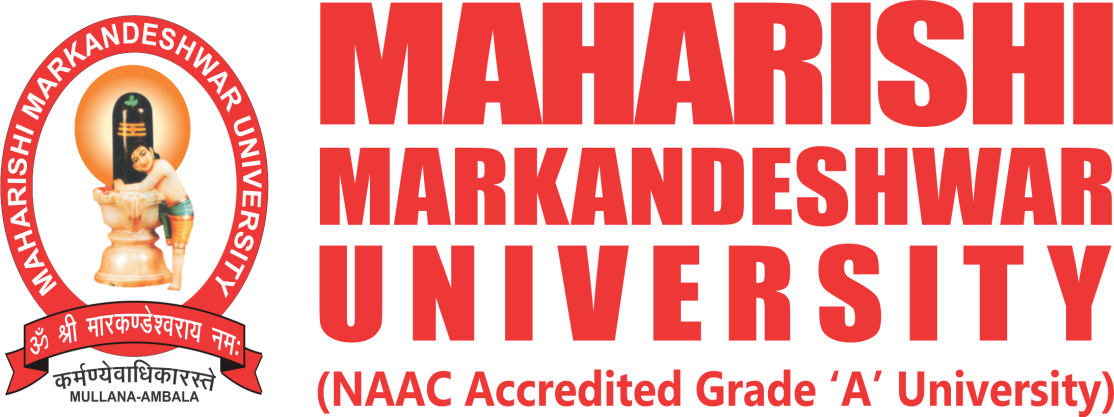 Web Ideations LLP eLearning client in India - Maharishi Markandeshwar University Logo